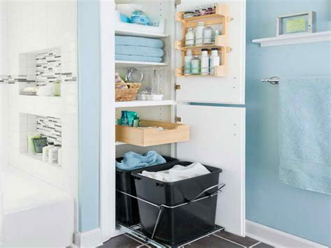 storage closet small bathroom storage ideas small