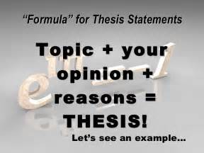 They Say I Say Templates For Thesis by Writing A Thesis Statement