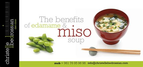 The Health Benefits Of Miso Soup by Christelle Bedrossian Sawt El Mada What Are The Health