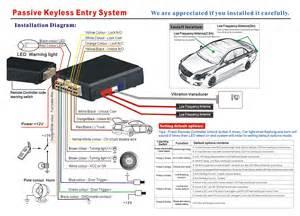 smartkey keyless entry system pke system vehicle alarm 3200