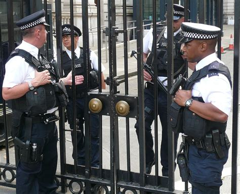 Two Officers by Parliamentary And Diplomatic Protection