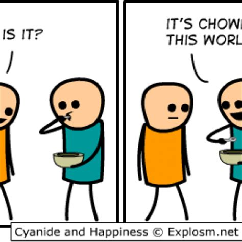 Chowdah This World Pun On Words Comic By Cyanide and Happiness