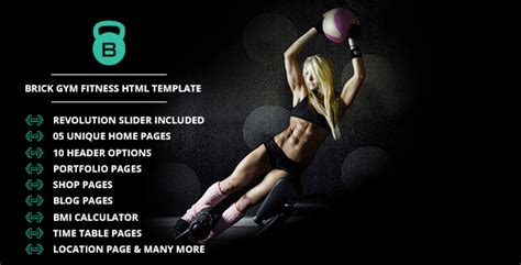 themeforest fitness brick gym fitness html template by thejkthemes themeforest
