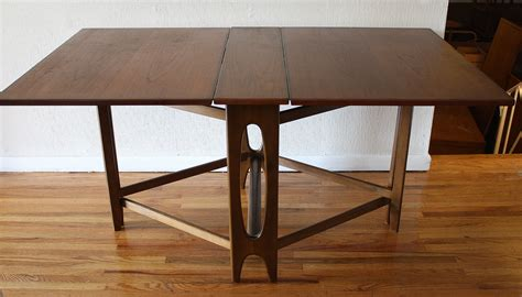 Folding Dining Room Tables | danish folding dining table 2 picked vintage