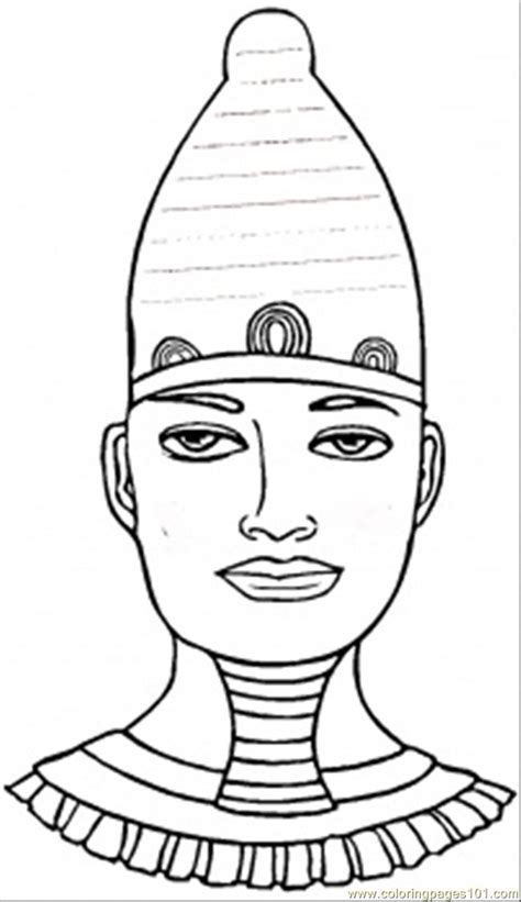 coloring pages of egyptian pharaohs egyptian pharaoh coloring page free egypt coloring pages