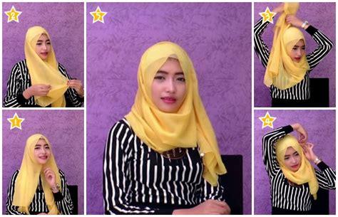 tutorial pashmina untuk kuliah tutorial hijab pashmina mudah dan cepat untuk kuliah