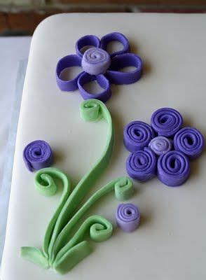 tutorial quilling in pdz 17 best images about fondant flowers on pinterest