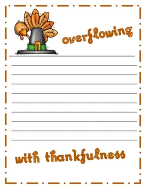 free thanksgiving writing paper thanksgiving writing paper by nicholson