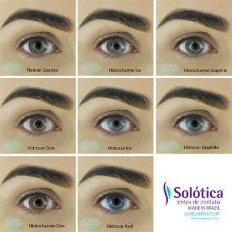 Solotica Kawai solotica hidrocor hidrocharme and lenses on brown
