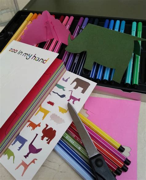 Animal Cutout Notebook S by Zoo In My Animal Cut Out Book By Paper Haveli