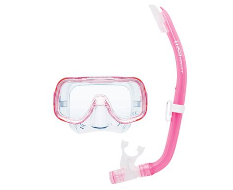 Tusa Mask Snorkel Mini Kleio Youth Combo Uc 2014 Cgr Diving Snorkeling tusa kid s mini kleio combo buy in canada