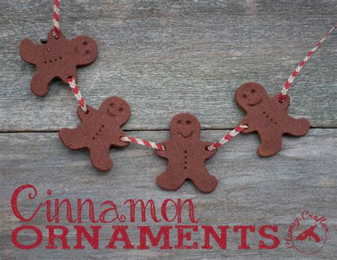 easy cinnamon ornaments clumsy crafter