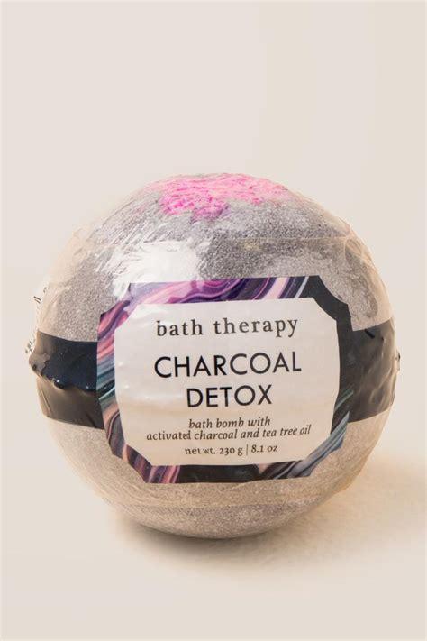 Detox With Bath Bombs by Charcoal Detox Bath Bomb S