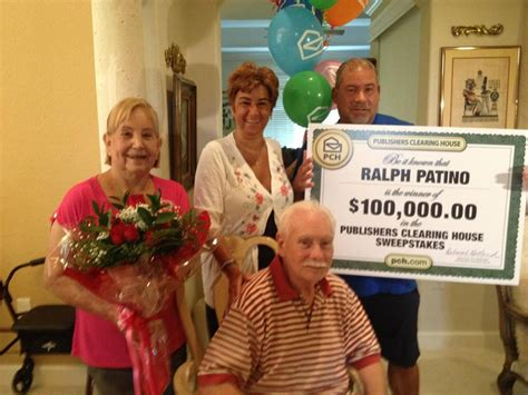 How Does Publishers Clearing House Work - publishers clearing house florida winner shows you don t just win big in vegas