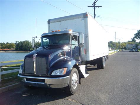 kenworth box truck kenworth t 270 2009 kenworth t 270 box truck for