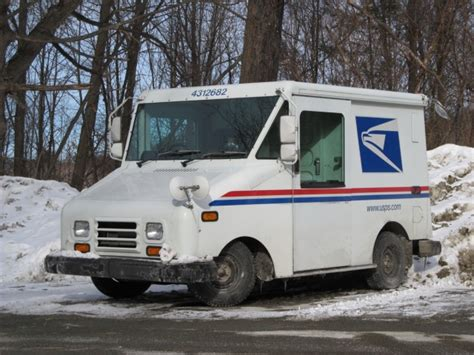postal vehicles u s p s long life vehicles last 25 years but age shows now