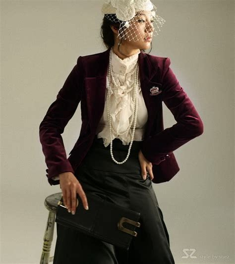 fashion trend asian korean victorian fashion style