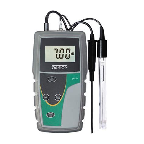 Ph Meter Oakton Oakton Ph 5 Meter With Ph Electrode Atc Probe And