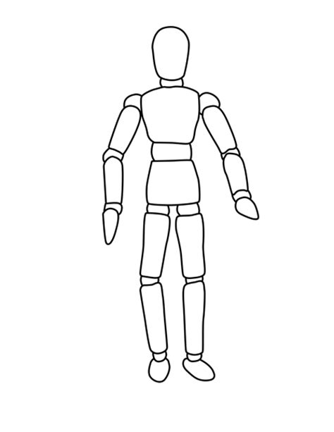 design mannequin template the boot kidz mannequin outlines for drawing planning