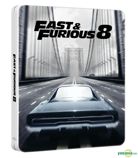 fast and furious 8 hong kong yesasia fast and furious 8 blu ray steelbook white