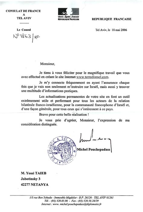 Lettre Demande De Visa Au Consulat 233 Crire 224 Un Consul