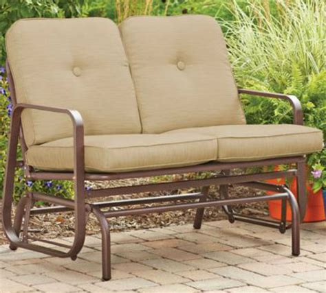 Outdoor Loveseat Swing Outdoor Furniture Design And Ideas