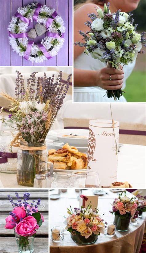 Lavendel Deko Ideen by Hochzeitsdeko Lavendel Sch 246 Ne Ideen F 252 R Tisch Co