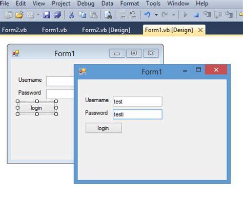 membuat form login sederhana dengan vb membuat login sederhana dengan vb net rianul blog