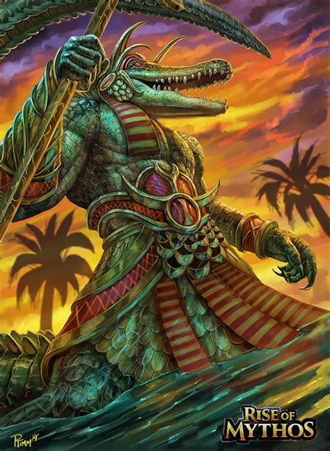 sobek by ptimm on deviantart