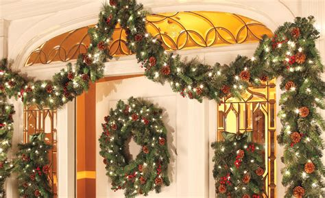 how to decorate garland improvements