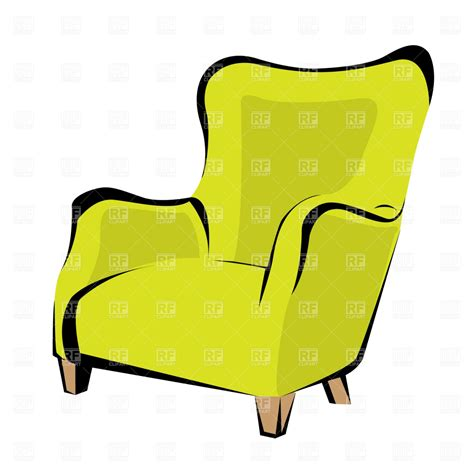 Clipart Armchair by Retro Armchair 1103 Objects Royalty Free Vector Clip Eps