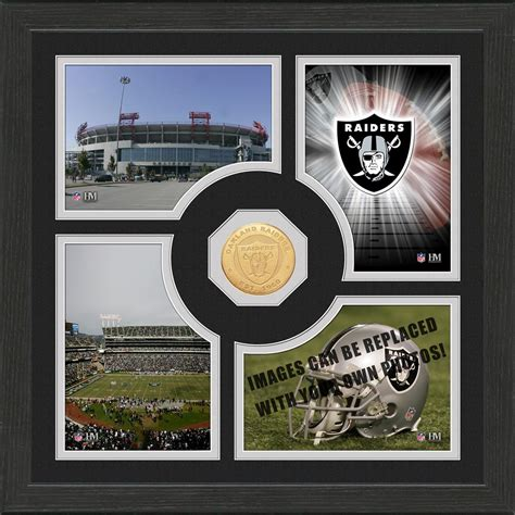 gifts for raiders fans highland mint 174 oakland raiders fan memories photo mint