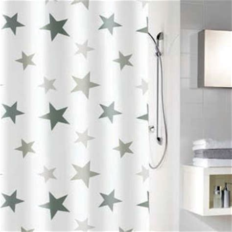 shower curtain with stars grey shower curtains
