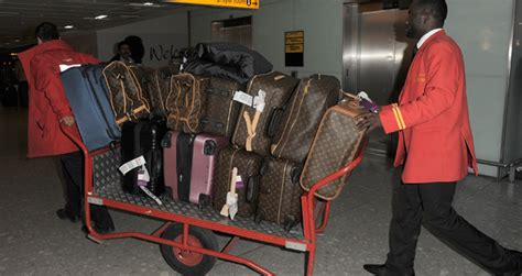 Gorgeous Red Suitcases by Don T Leave Home Without It Celebrities And Their Louis