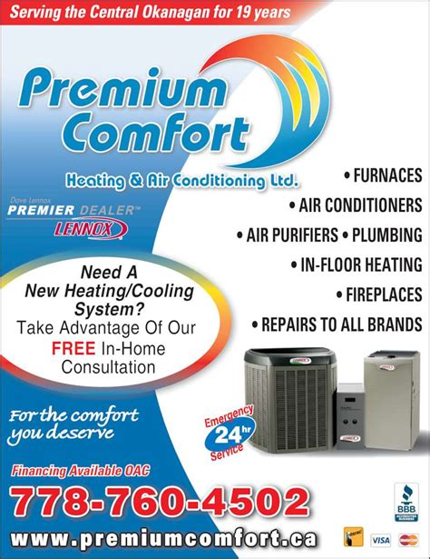 comfort heating and air reviews premium comfort heating air conditioning ltd opening