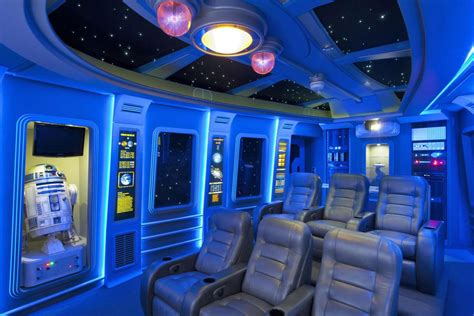 star wars house pics of the best star wars inspired home theaters