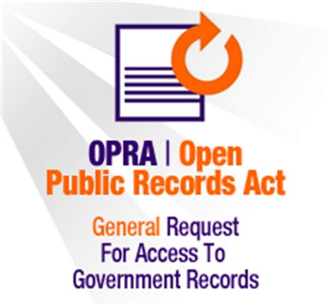Open Records Act Nj The Official Website Of The Township Of Parsippany Nj Home