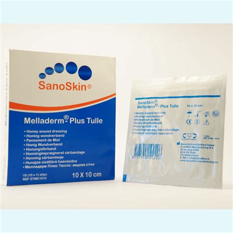Salep Sanoskin Melladerm Plus sanoskin 174 melladerm plus tulle mercure innovation