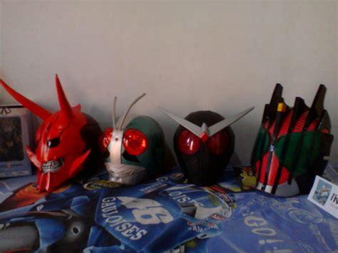 Kamen Rider Helmet Papercraft - kamen rider helmet by ikkakuro on deviantart