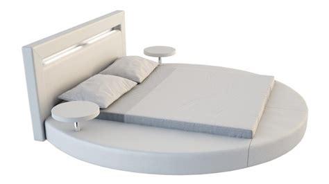 Etagere Uster by Lit Rond Design 160x200 En Simili Blanc Avec 233 Clairage