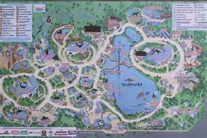 map of sea world florida orlando team parks and maps
