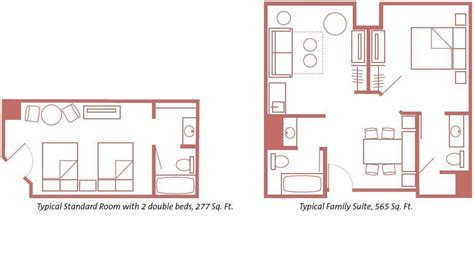 art of animation family suite floor plan floor plans and room lay out for disney s art of animation