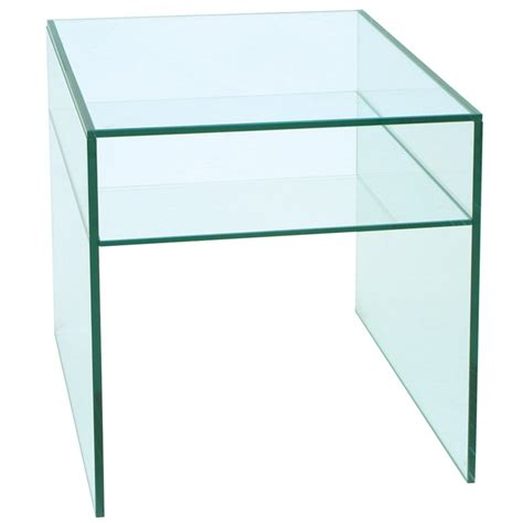 Glass Side Table Glass Furniture Glass Side Tables Contemporary Glass Furniture