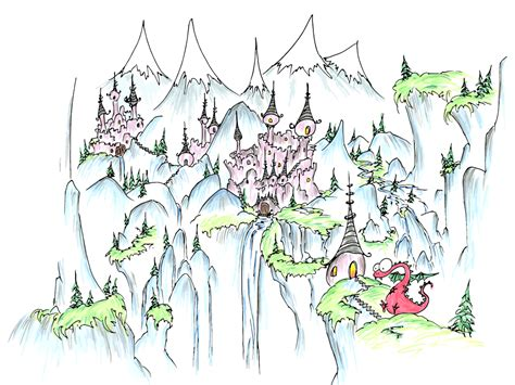 dragons an coloring book with beautiful and relaxing coloring pages gift for a with castles on cliffs bluebison net