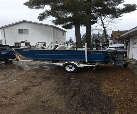 aluminum fishing boat for sale in michigan starcraft boats for sale in michigan used starcraft