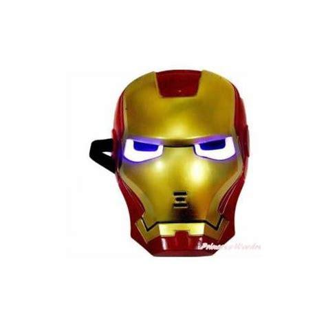 iron man isikli maske demir adam maske ironman demiradam
