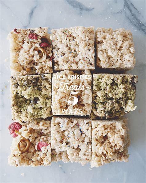 interesting rice krispies treats recipes popsugar food