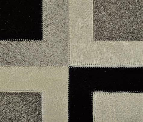kuhfell teppich 120 x 150 cm grau schwarz wei 223 bei - Teppich 120 X 150