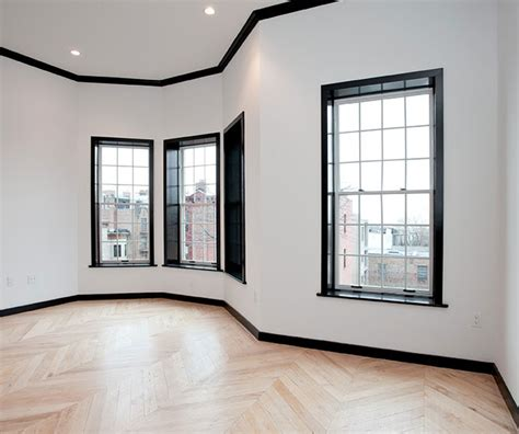 Trim Around Windows Inspiration Design Inspiration Black Trim Black And House