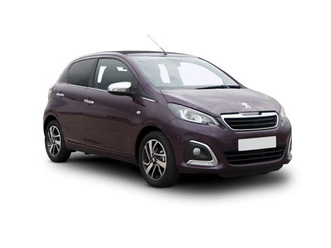 peugeot lease deals including insurance peugeot 108 1 0 active 5dr hatchback